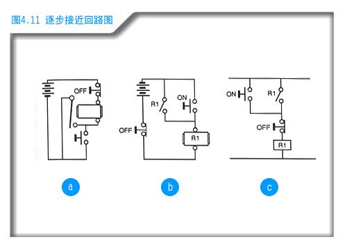 继电器和一个行程开关接线图
