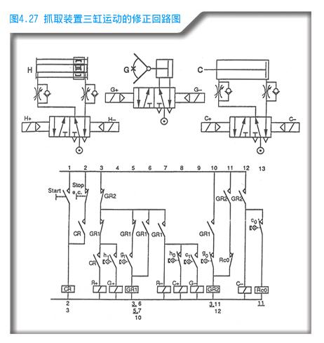 14爪中间继电器接线图